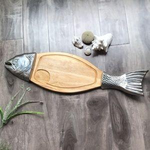 FISH charcuterie board